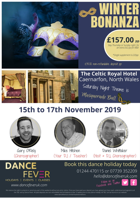 Winter Bonanza 2019 - Dance Fever Holidays