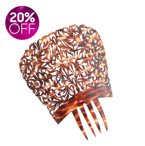 Very Large Faux Tortoiseshell Hair Comb