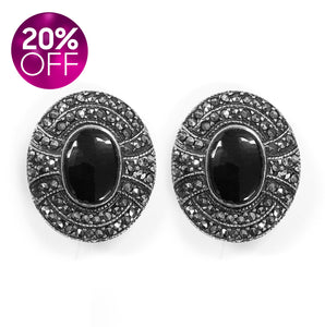 Silver 925 Marcasite Earrings