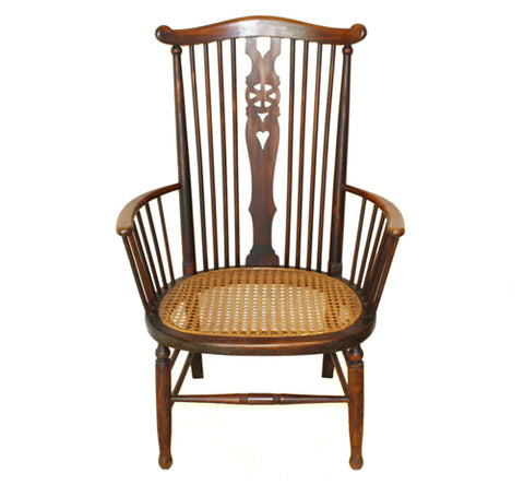 Antique Arts & Crafts Farmhouse Carver Chair. Find this and other Beautiful Vintage items for you home at Intovintage.co.uk.