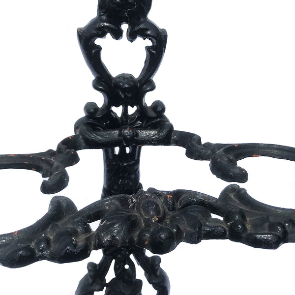 Victorian cast iron umbrella stand in excellent condition - SHOP NOW - www.intovintage.co.uk
