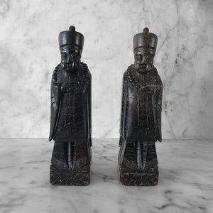 Antique Stone Chinese Figures