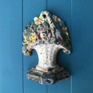 Nice and heavy Vintage Cast Iron Door Stop. A useful and decorative piece for the home - SHOP NOW - www.intovintage.co.uk
