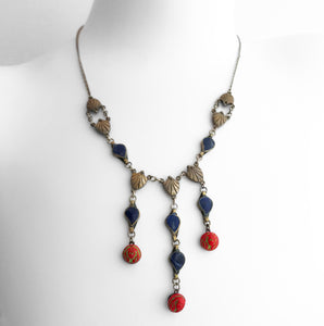 Egyptian Revival Deco Necklace