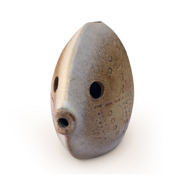 Studio Pottery Fish Money Box