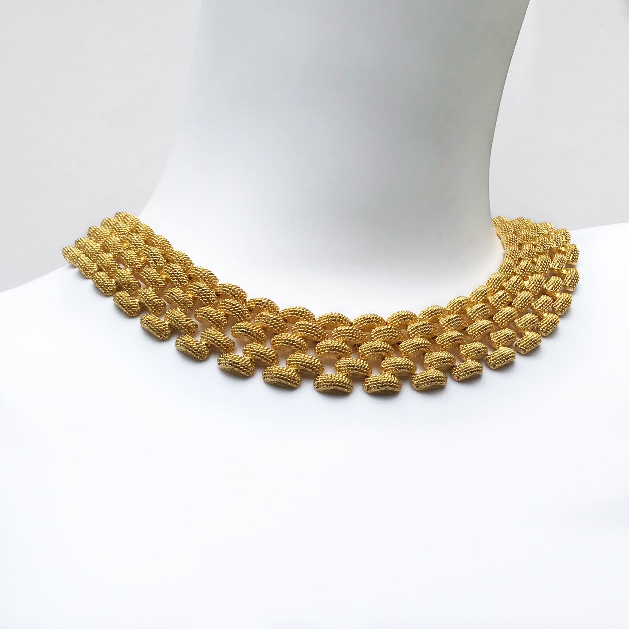 80′s Goldtone Chunky Chainlink Necklace