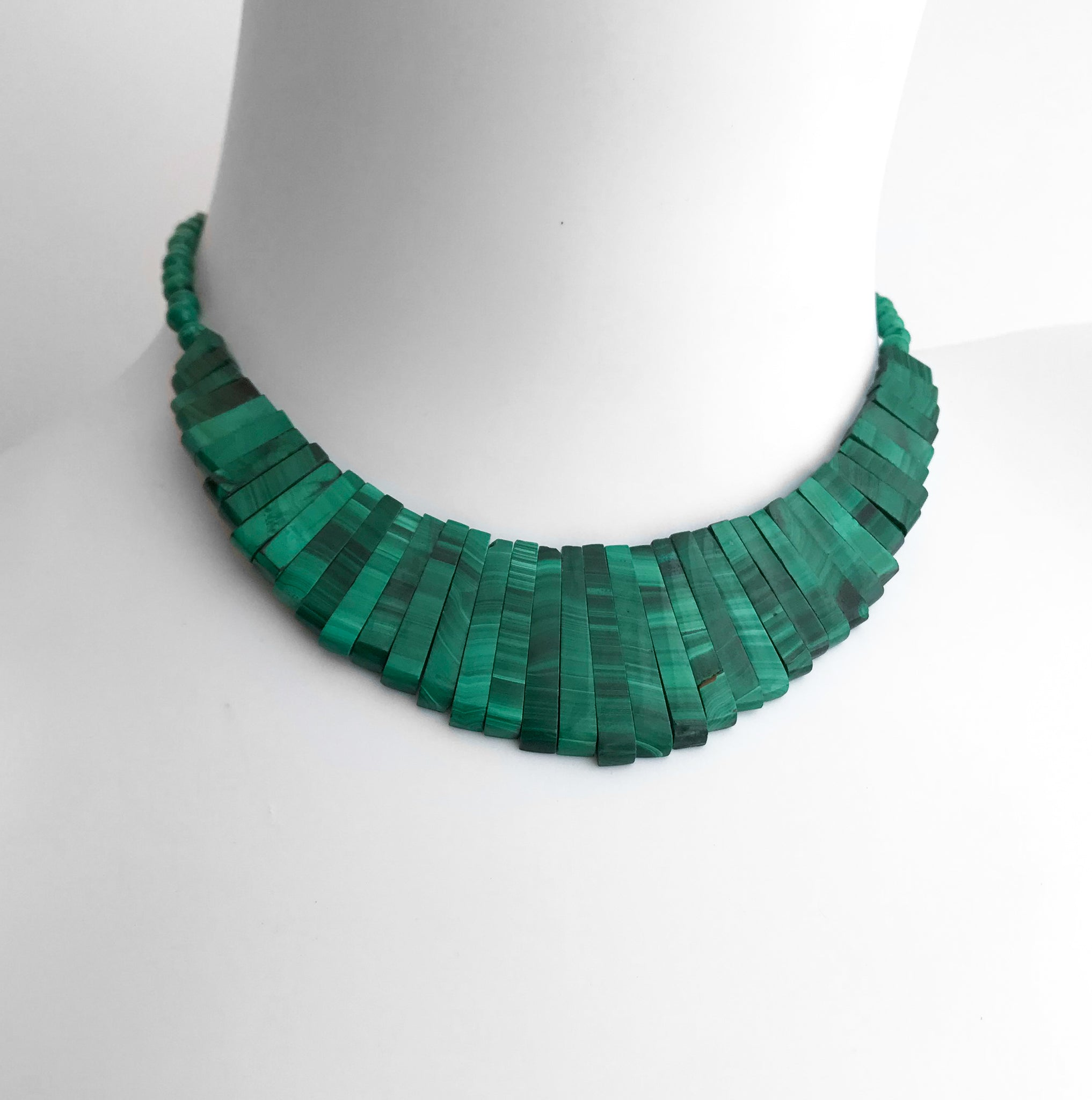 Vintage Malachite Necklace. Find this and other Vintage jewellery for sale at Intovintage.co.uk. Into Vintage