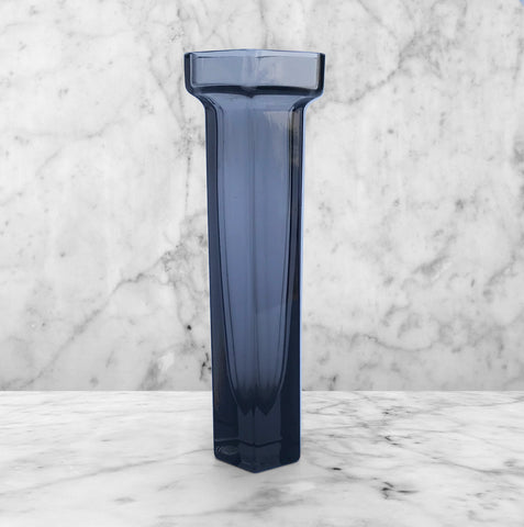 Wedgwood Smokey Glass 'Brutus' Flower Vase