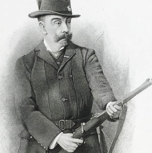 Engraving of a Hunter by G Sidney Hunt