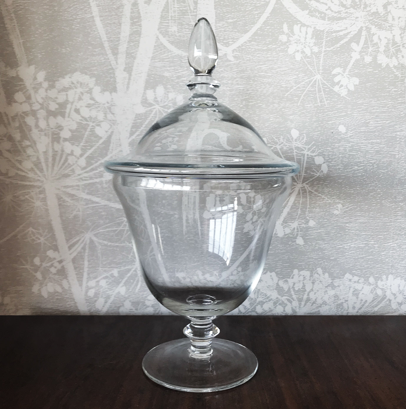 Large Vintage Blown Glass Chemist's Apothecary Jar
