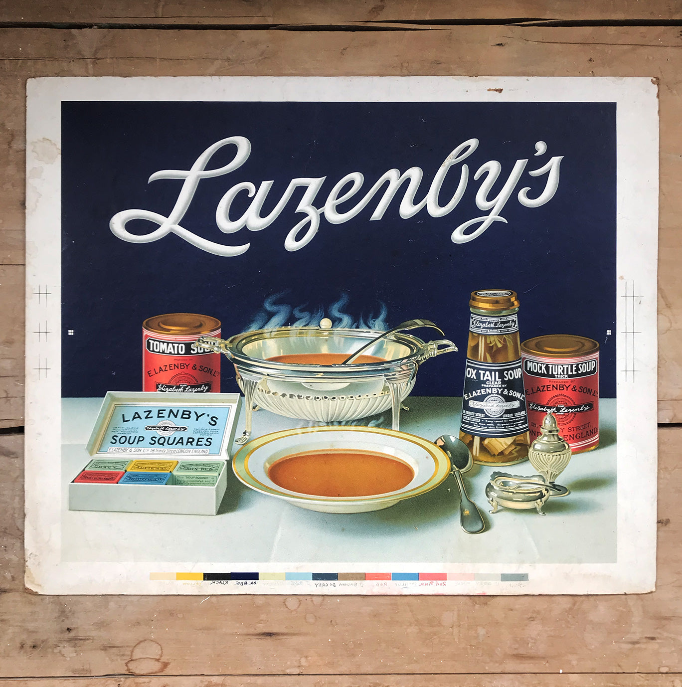 Period Lazenby's Advertising Print