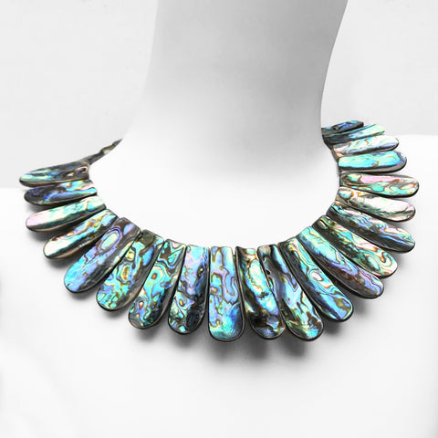 Vintage Mother of Pearl Necklace. Find this and other Vintage jewellery for sale at Intovintage.co.uk. Into Vintage
