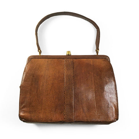 Vintage 50's Reptile Skin Bag. Find this and other Beautiful Vintage Bags & Purses for sale at Intovintage.co.uk.