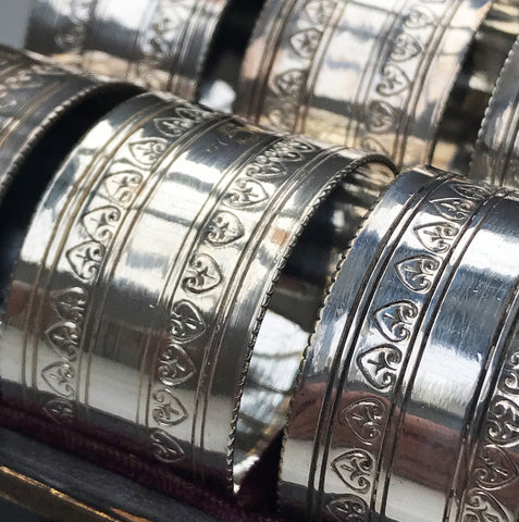 Edwardian Napkin Rings