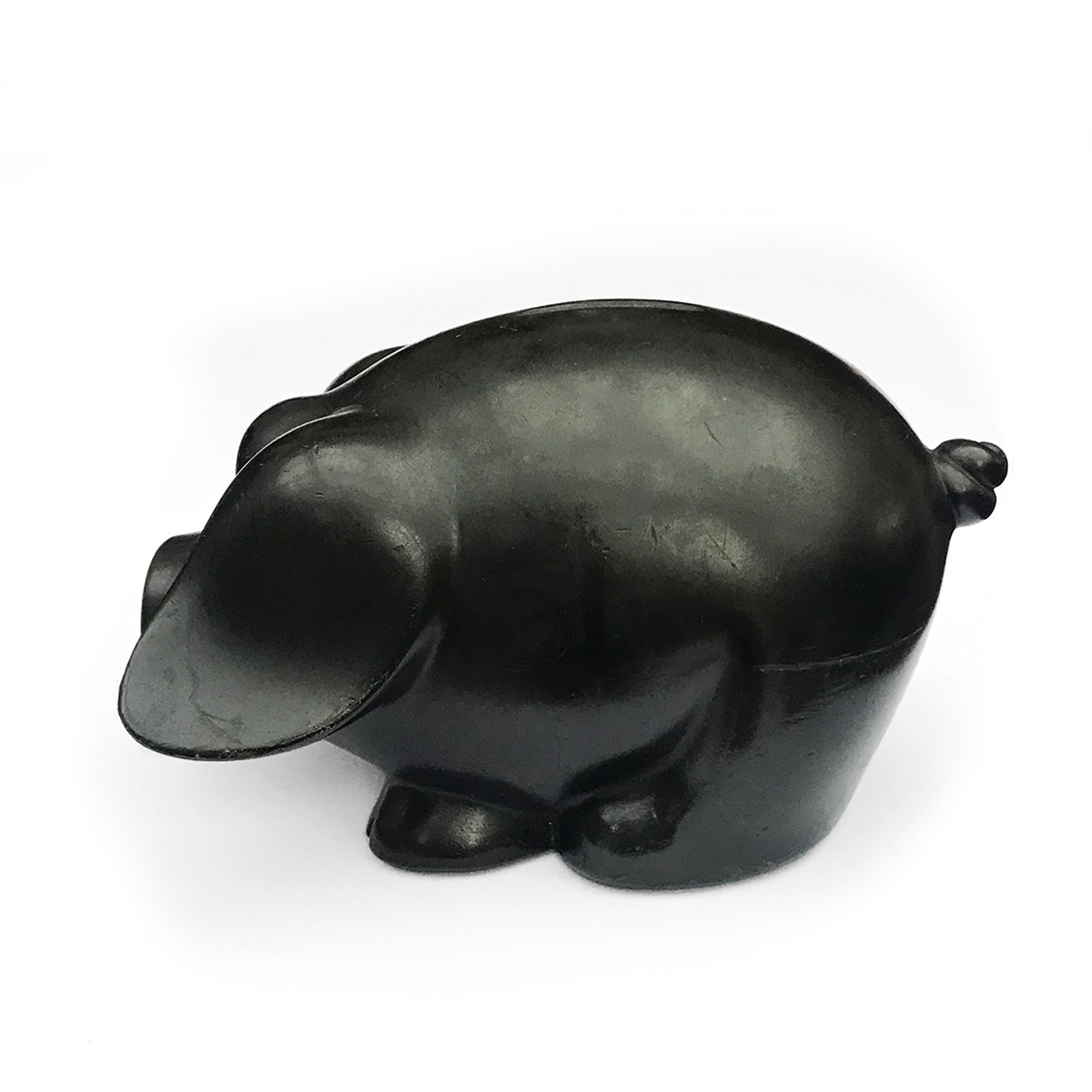 Lovely vintage black piggy bank - SHOP NOW - www.intovintage.co.uk