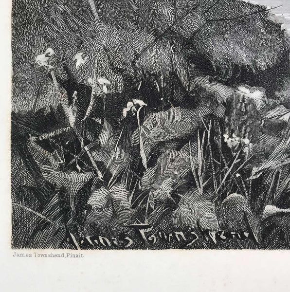 Period Etching by James Townshend. Find Antique Etchings & other Antique Prints at IntoVintage.co.uk