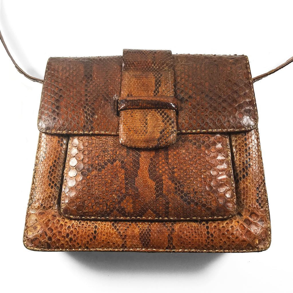 Vintage BoHo Snake Skin Bag. Find this and other Beautiful Vintage Bags & Purses for sale at Intovintage.co.uk.