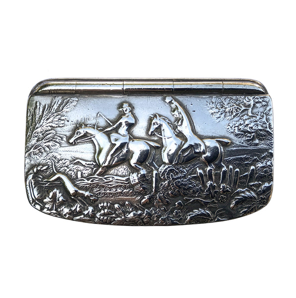 Pewter Snuff Box by Fribourg & Treyer