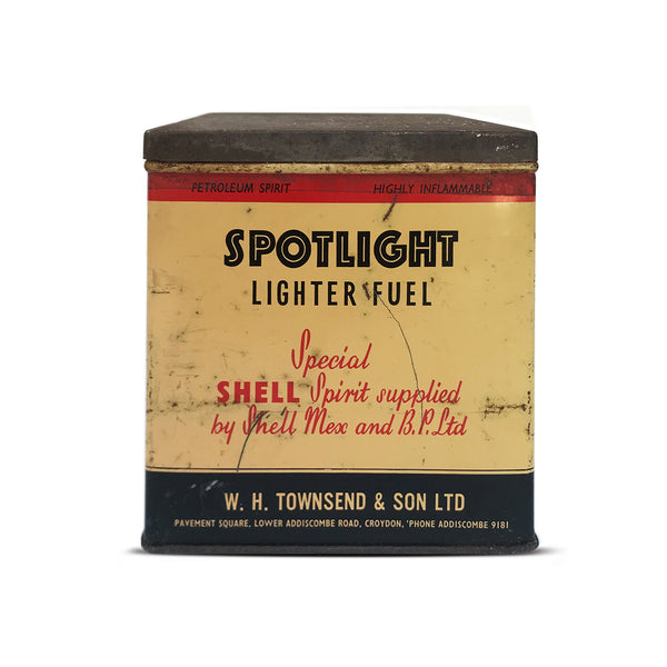 Vintage Spotlight Tin. Find this and other Vintage Tins & Toys for sale at Intovintage.co.uk.