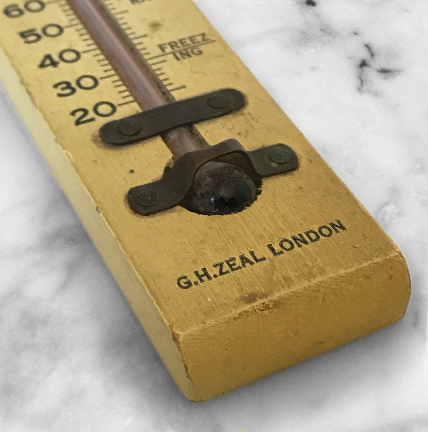 Nice small thermometer by G.H.Zeal. Founded in 1888 - SHOP NOW - www.intovintage.co.uk