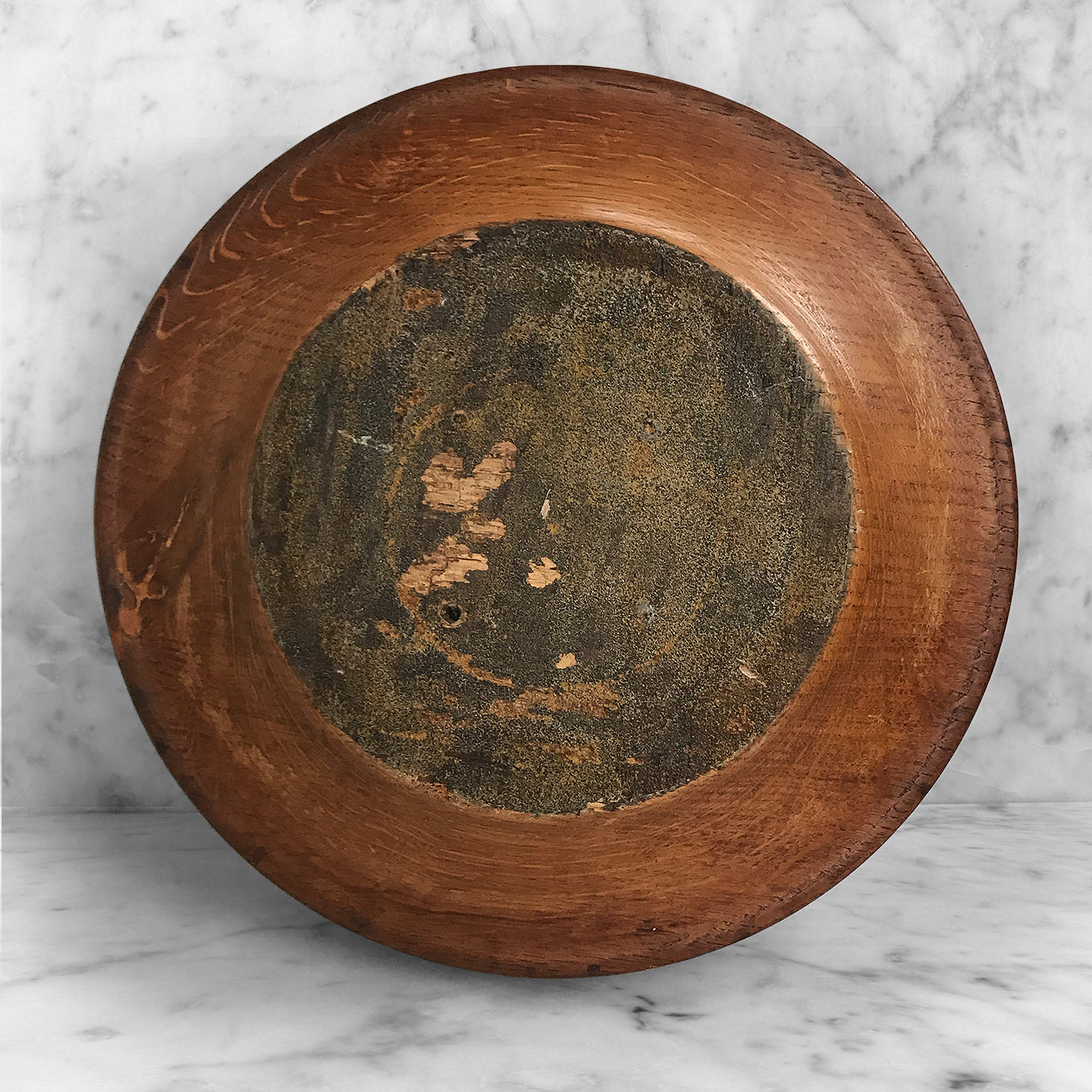 Antique Oak Table Bowl. Great size and shape with a beautiful warm colour. The profile of the bowl gives the bowl an age from around the 1930's - SHOP NOW - www.intovintage.co.uk