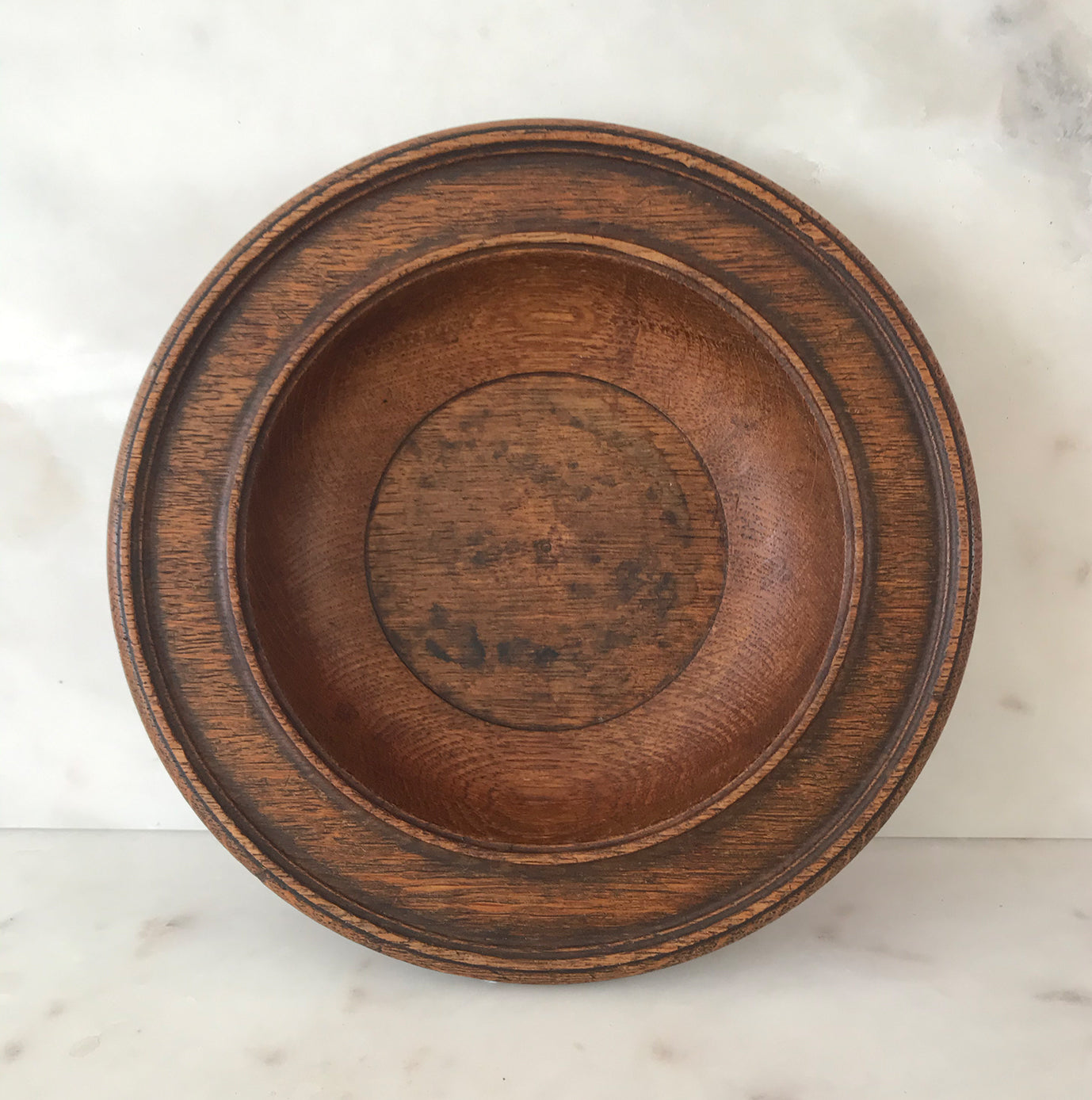 30's Wooden Church Collection Plate