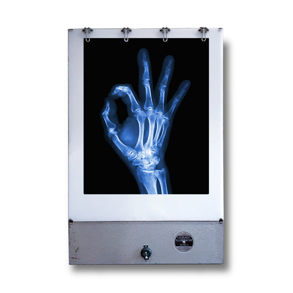 Vintage Kodak X-Ray light box. When turned on gives a great light for display or even just light to illuminate a space. Shop now www.intovintage.co.uk