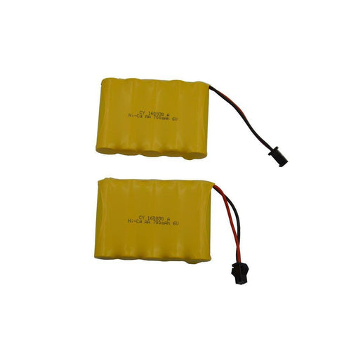 2 pcs Ni-Cd Battery for the RC Excavator