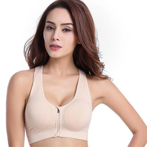 Image of 3pcs Magic Zip Comfort Bra