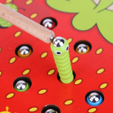 CATCH THE WORM - TODDLER EDUCATIONAL TOY Magnetic Puzzle