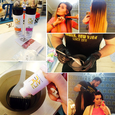 Image of 2PCS Keratin Treatment + Purifying Shampoo PURE