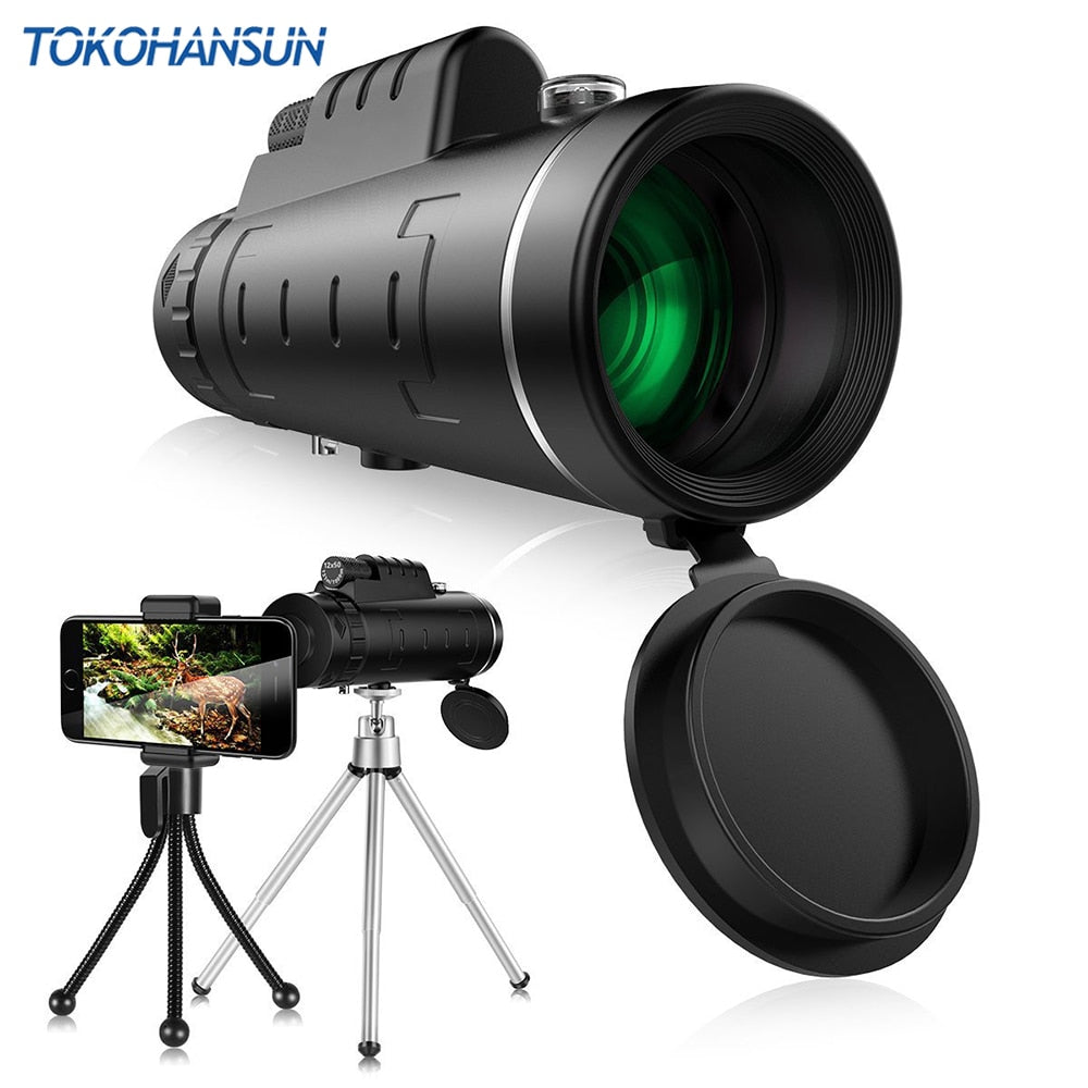 Premium 40X Optical Zoom Telephoto Lens