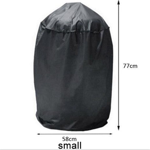 Image of Black Waterproof  Resistant Grill Cover