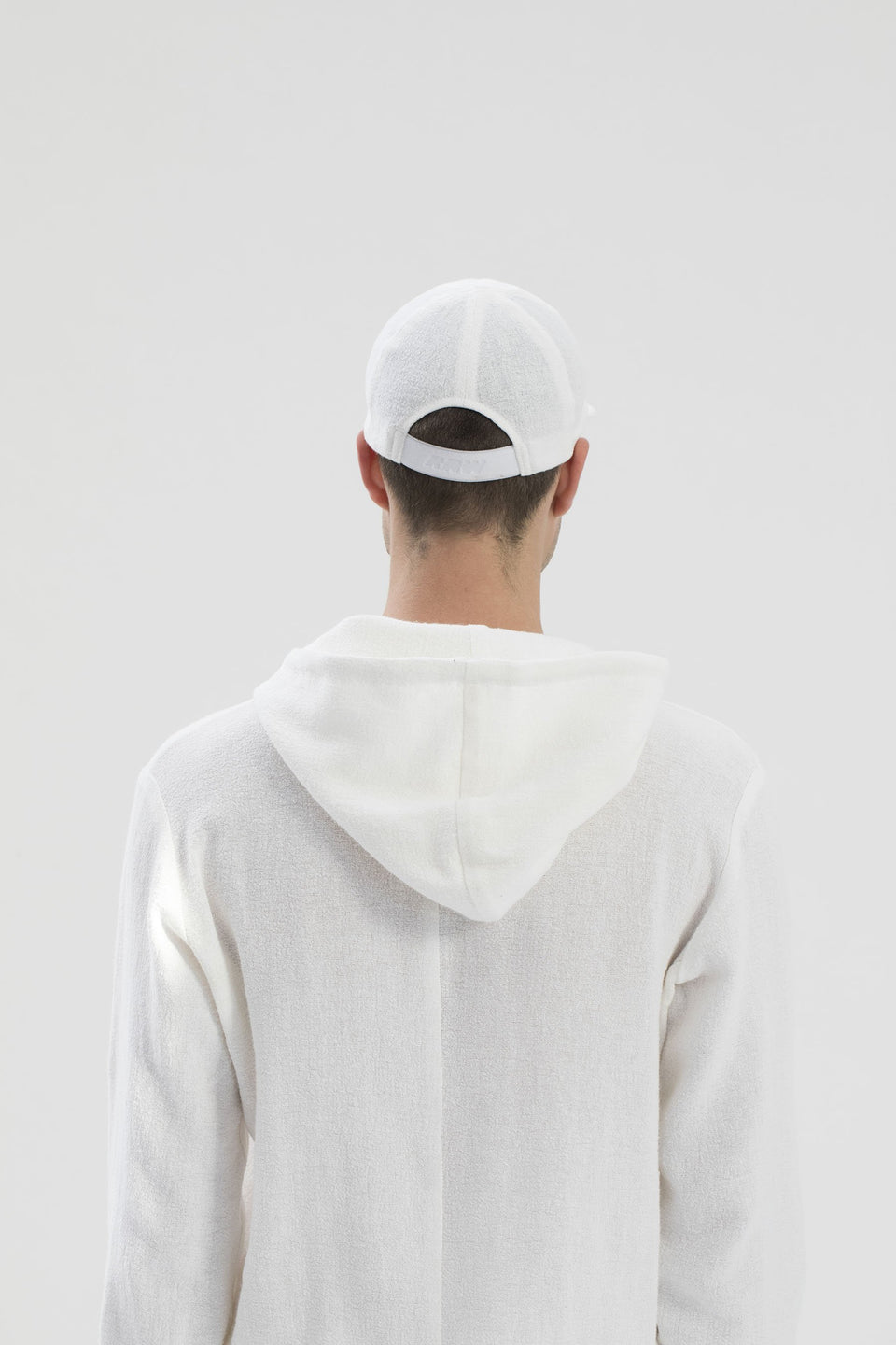 RAW Men Hoodie Set White