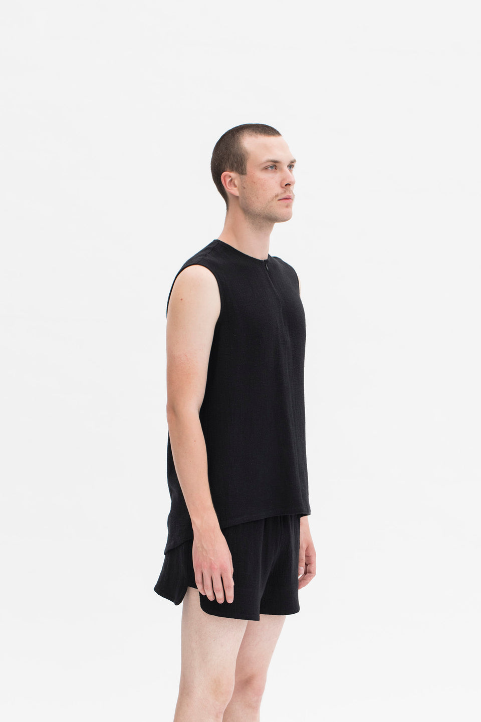 RAW Men Tank Top Black