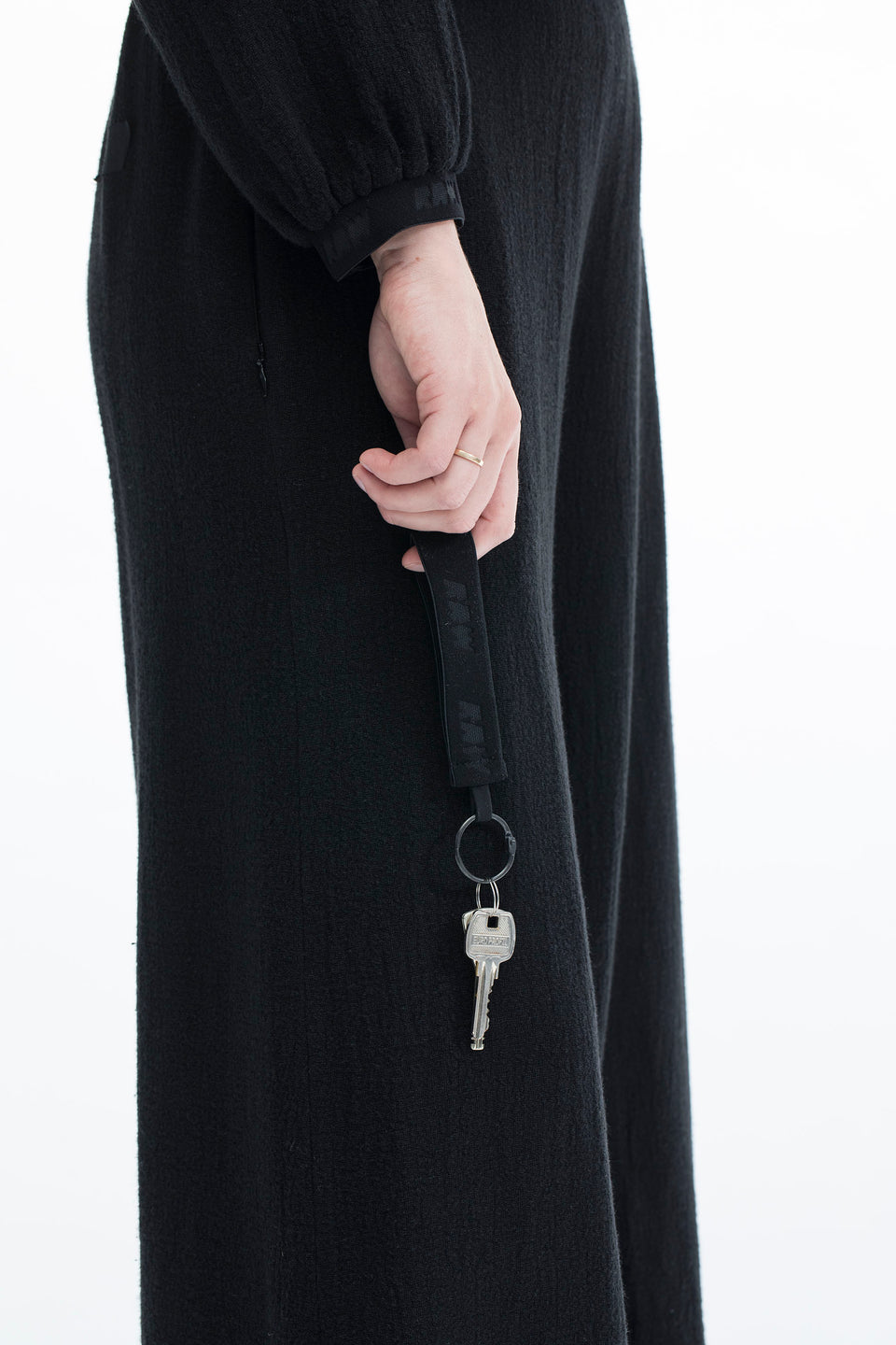 RAW U-Key Ring Black