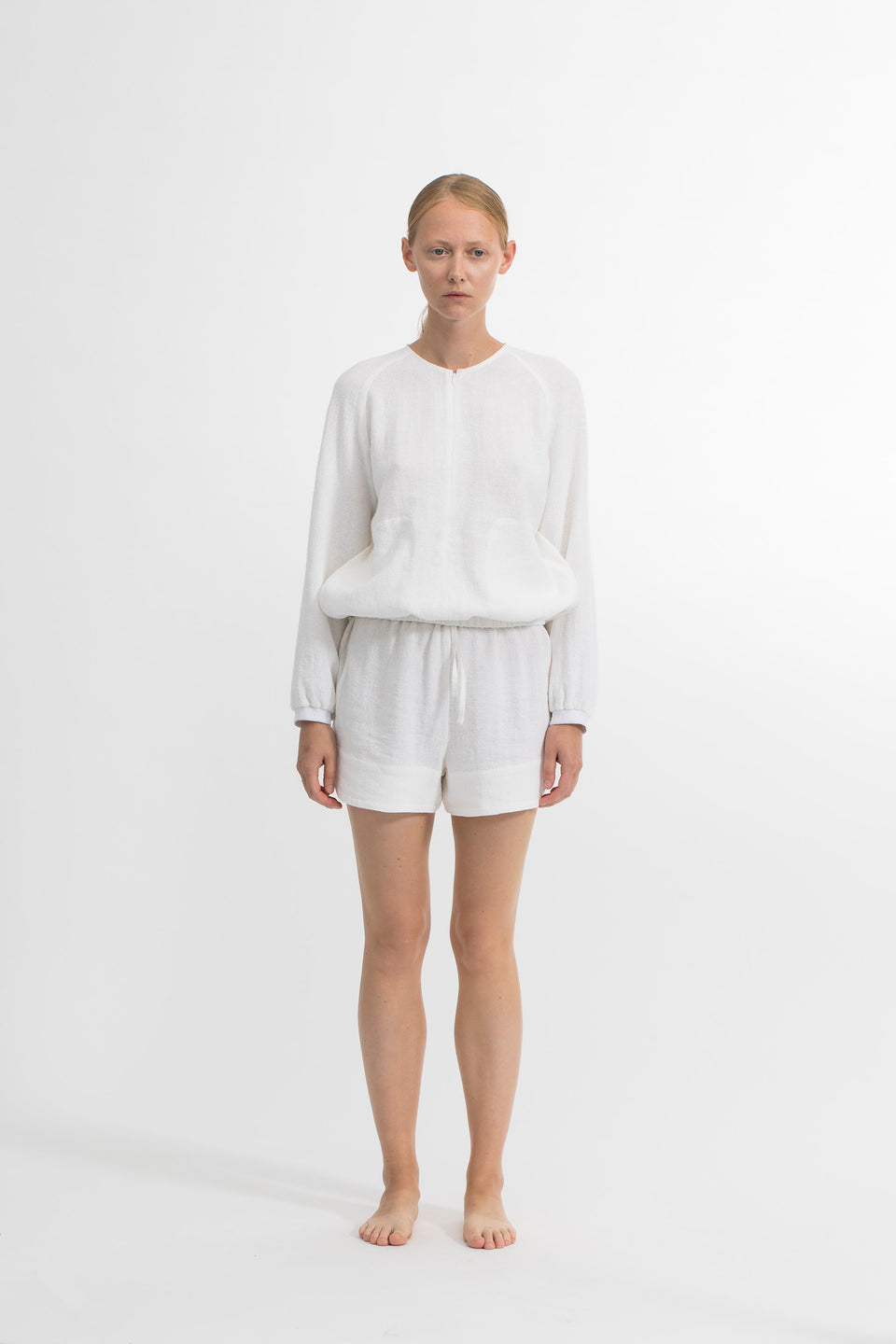RAW Women Running Shorts White