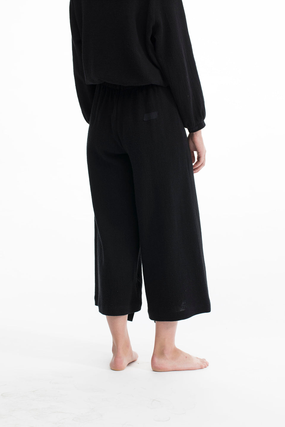 RAW Women Wide-leg Pants Black