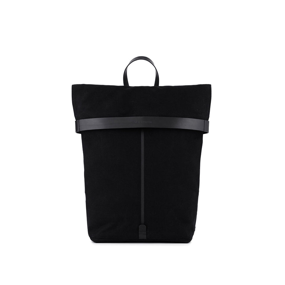 Atom Backpack Solid Black