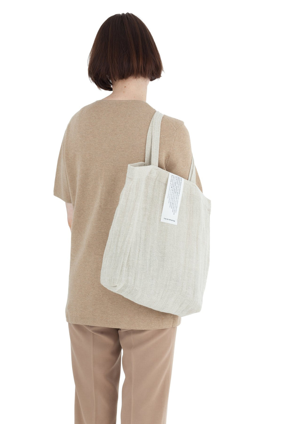 Linen Shopper Natural