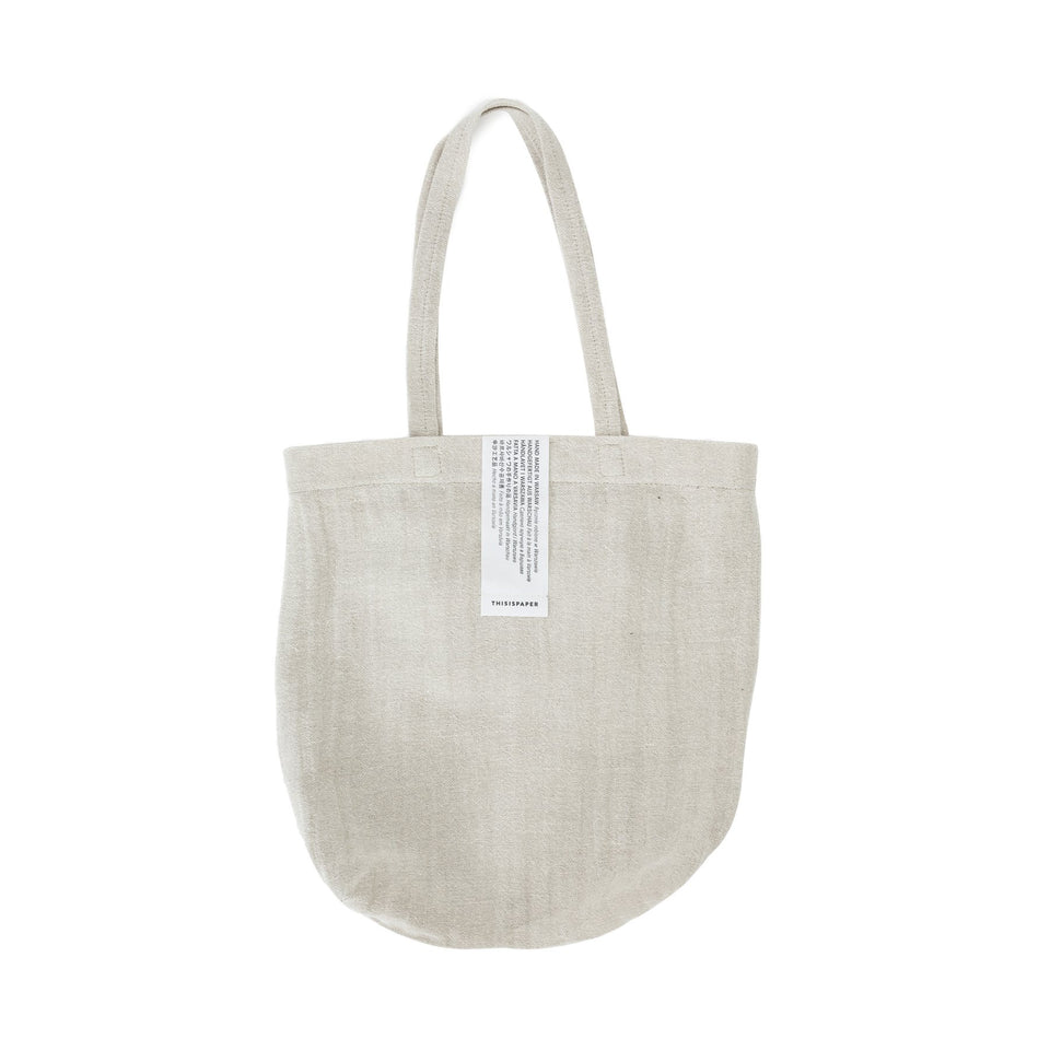 Thisispaper Linen Shopper Natural