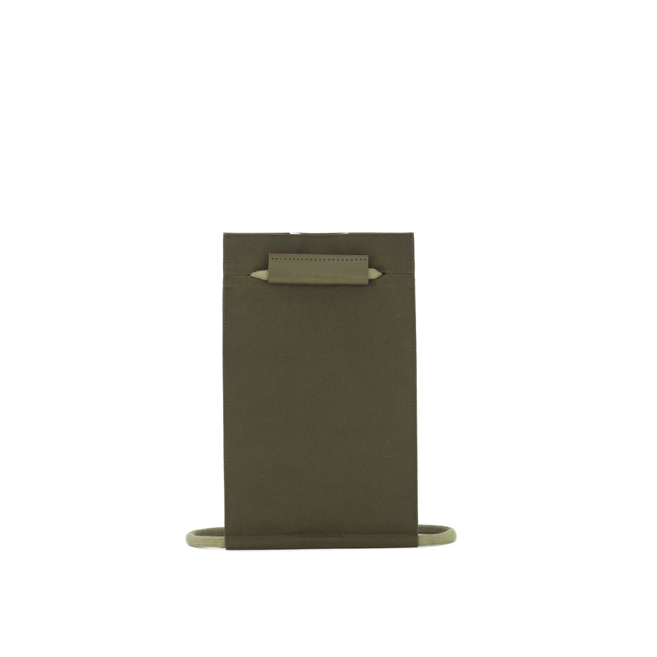 Thisispaper Pocket Bag Small Army Green