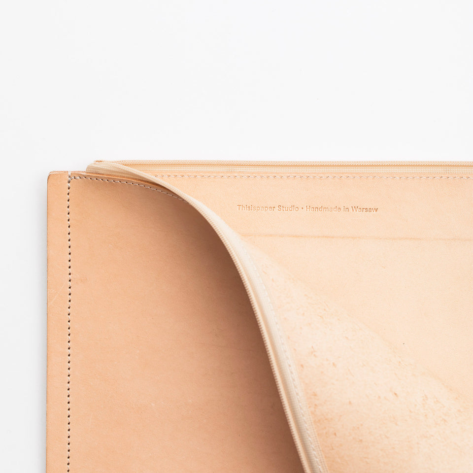 "C4 Leather MacBook Pro 13"" Case Natural"