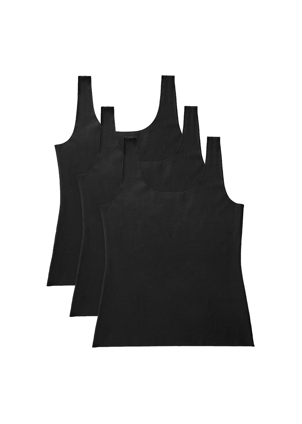 Organic Basics Invisible Tank 3-pack