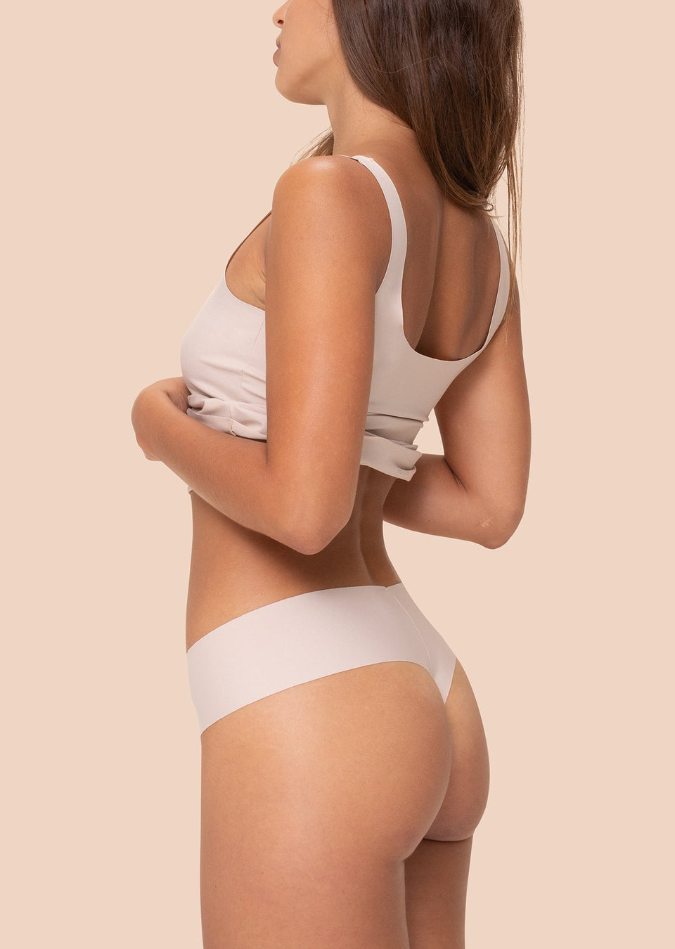Organic Basics Invisible Cheeky Thong 4-pack