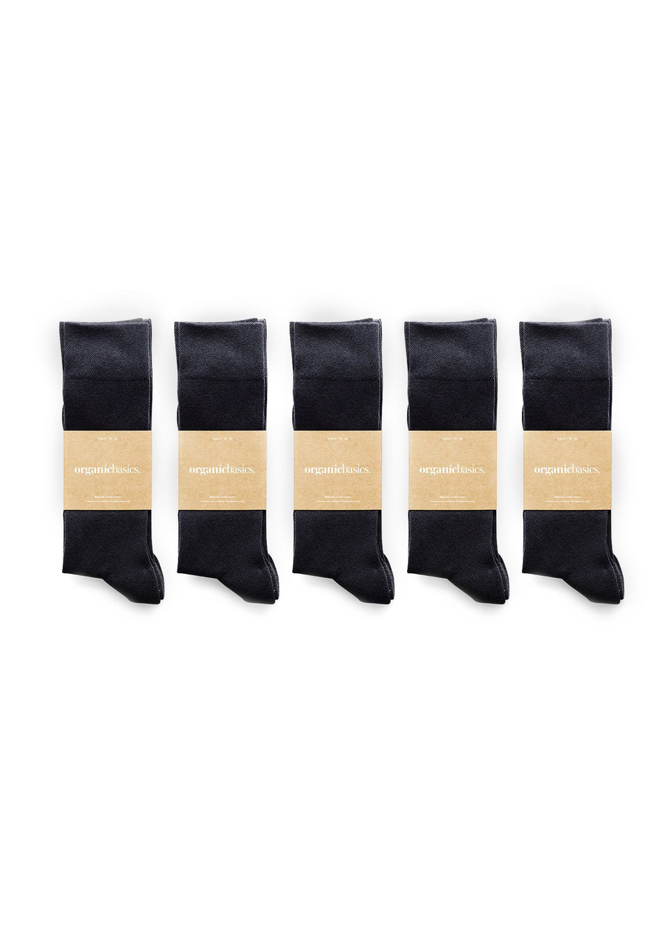 Organic Basics Her Regular Socks 10-pack