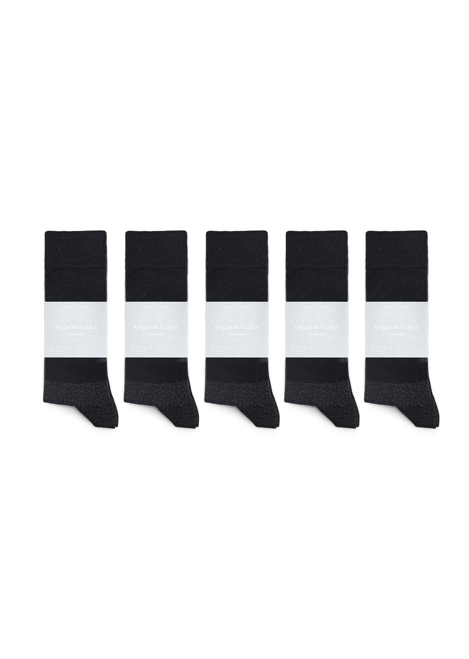 Organic Basics His SilverTech Regular Socks 10-pack