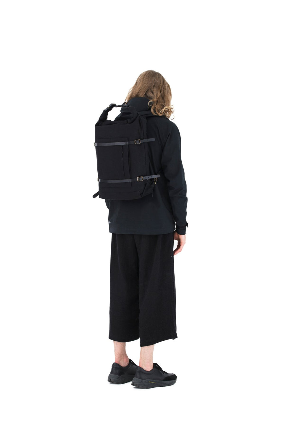 Thisispaper U-tility Backpack Solid Black