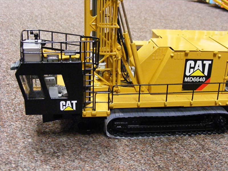 Perforadora Cat Md6640 Escala 1:50