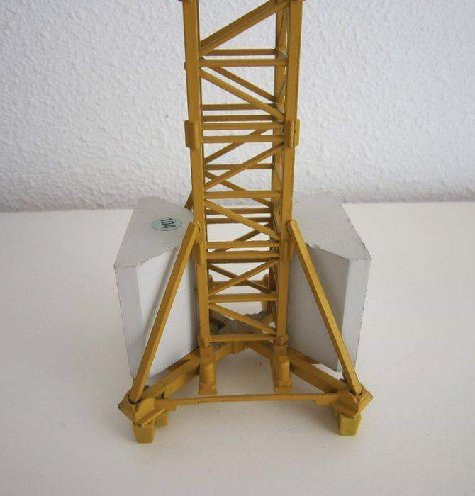 Putzmeister Pump Tower Escala 1:50 Grúas